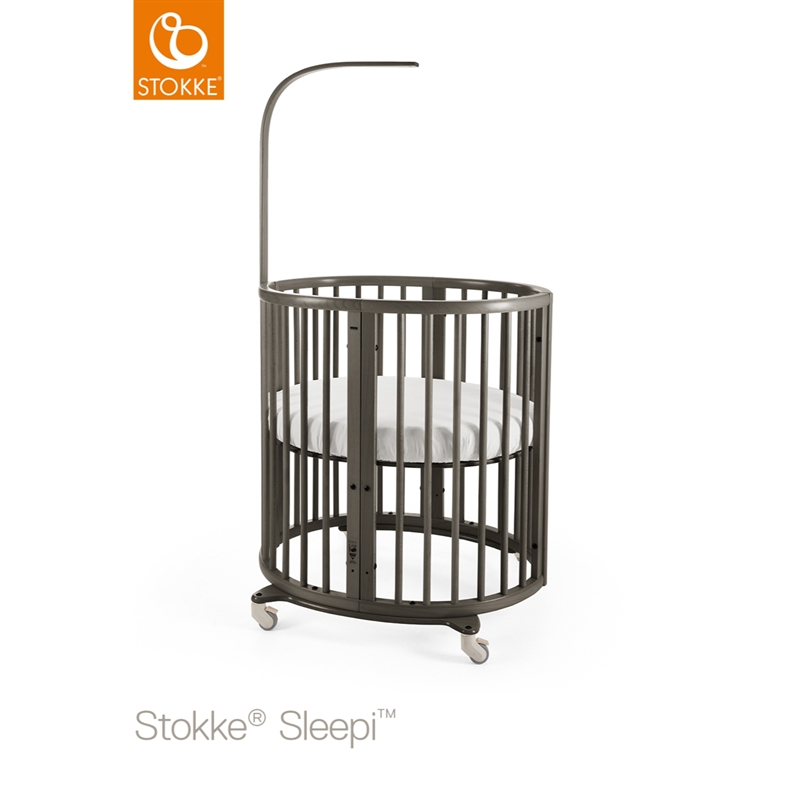 Stokke® Sleepi™ Mini + Mattress Hazy Grey