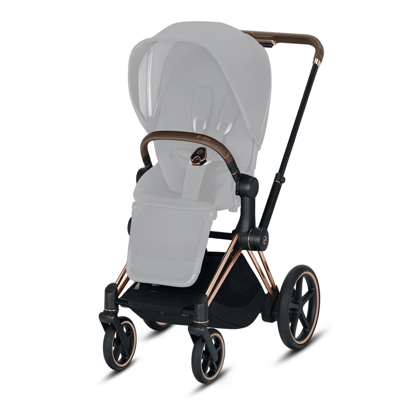 Cybex  E-Priam Frame incl Seat Hardpart Rosegold