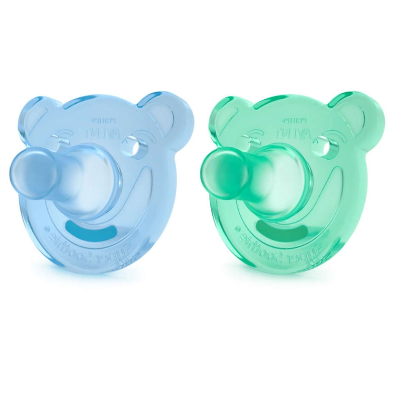 Phillips Avent Soothie 3+ M Boy 2-Pack
