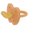 Hevea Natural Rubber Orthodontic Pacifier 3-36 M Cantaloupe